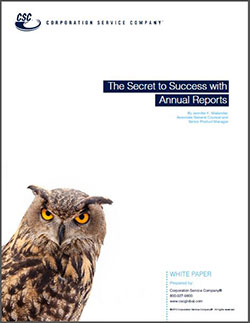 The Secret to Success with Annual Reports Whitepaper